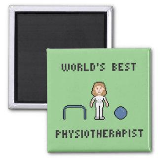 El mejor imán del fisioterapeuta de 8 mundos del