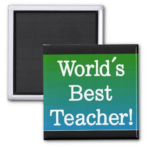 El mejor imán del profesor del mundo