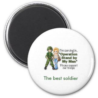 El mejor imán del soldado