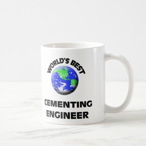 El mejor ingeniero de cementación del mundo taza de café