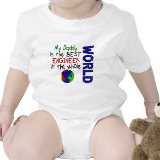 El mejor ingeniero en el mundo 2 (papá) trajes de bebé