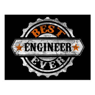 El mejor ingeniero nunca tarjeta postal