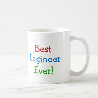 El mejor ingeniero nunca taza