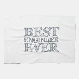 El mejor ingeniero nunca toallas