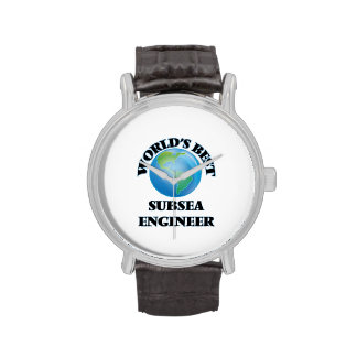 El mejor ingeniero submarino del mundo relojes de mano