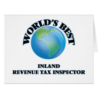 El mejor inspector del impuesto de la Hacienda Tarjeta