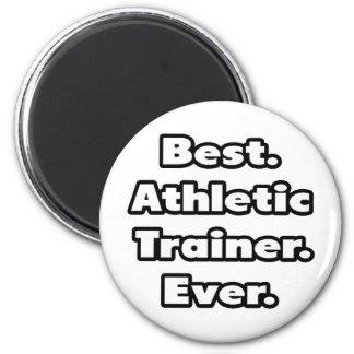 El mejor. Instructor atlético. Nunca Imán Redondo 5 Cm