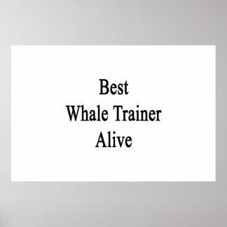 El mejor instructor de la ballena vivo impresiones