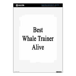 El mejor instructor de la ballena vivo iPad 3 skins