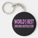 El mejor instructor de la conducción del mundo llaveros