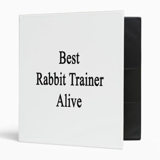 """El mejor instructor del conejo vivo carpeta 1"""""""