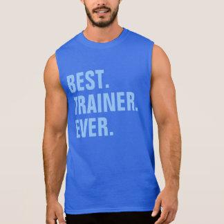 El mejor. Instructor. Nunca Camisetas Sin Mangas