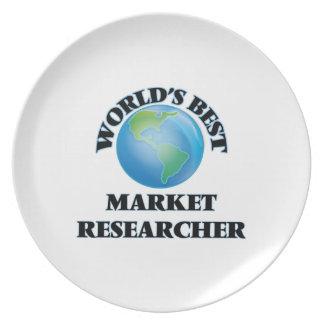 El mejor investigador del mercado del mundo plato de comida