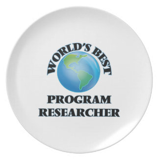 El mejor investigador del programa del mundo platos de comidas