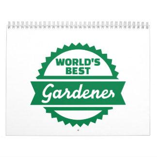 El mejor jardinero del mundo calendario