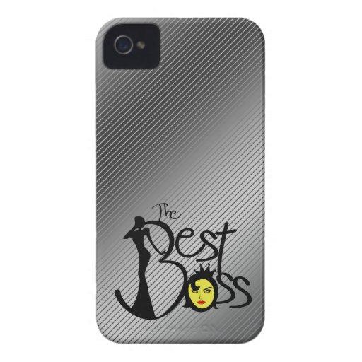 El mejor jefe de la señora iPhone 4 Case-Mate fundas