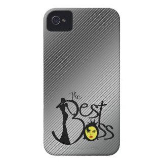 El mejor jefe de la señora iPhone 4 cárcasa