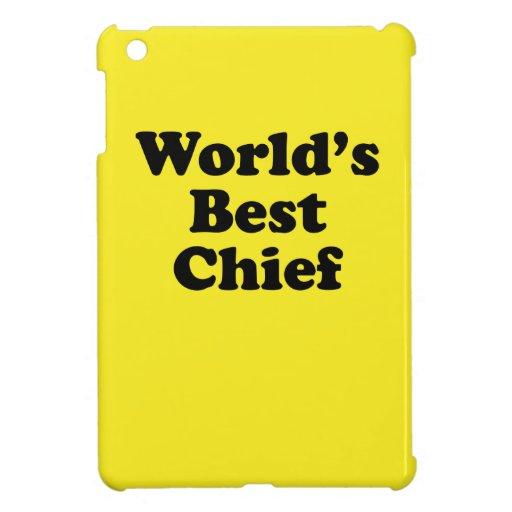 El mejor jefe del mundo iPad mini carcasas