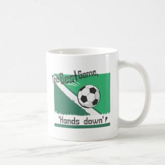 """El mejor juego """"manos abajo """" tazas de café"""