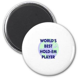 El mejor jugador Asimiento-Em del mundo Imán Para Frigorifico