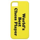 El mejor jugador de ajedrez del mundo iPhone 5 Case-Mate carcasa