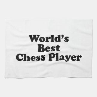 El mejor jugador de ajedrez del mundo toallas