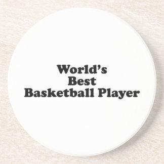 El mejor jugador de básquet del mundo posavaso para bebida