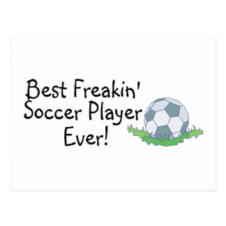 El mejor jugador de fútbol de Freakin nunca Postal