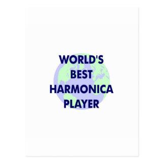 El mejor jugador de la armónica del mundo postal
