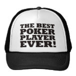 El mejor jugador de póker nunca gorra