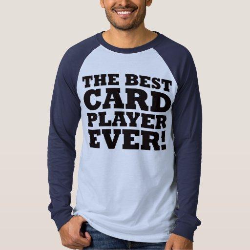 El mejor jugador de tarjeta nunca playera