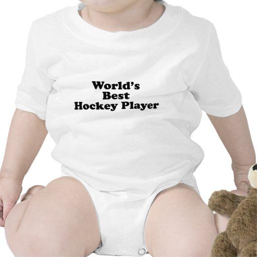 El mejor jugador del hockey del mundo camiseta