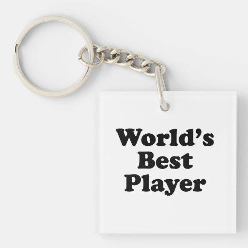 El mejor jugador del mundo llavero
