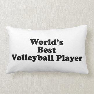 El mejor jugador del voleibol del mundo almohadas