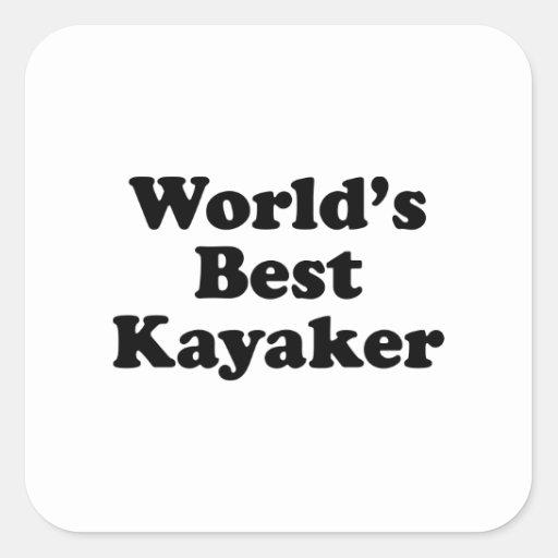 el mejor Kayaker del mundo Colcomania Cuadrada