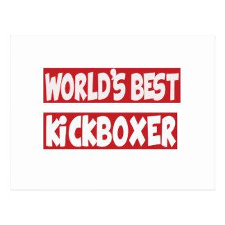 El mejor Kickboxer. del mundo Postales