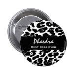 El mejor leopardo blanco negro conocido siempre de