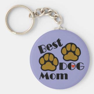 El mejor llavero de la mamá del perro con mercancí
