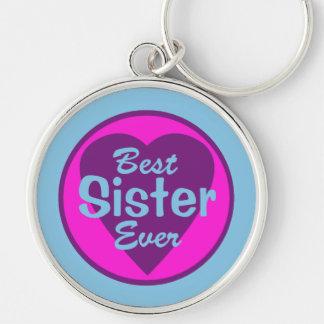 El mejor llavero siempre de lujo de la hermana