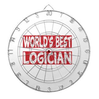 El mejor lógico del mundo tabla dardos