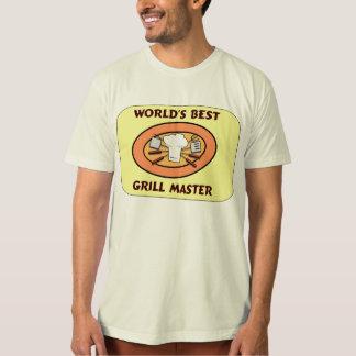El mejor logotipo de Grill Master del mundo Playera