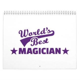El mejor mago del mundo calendarios de pared
