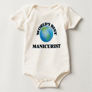 El mejor manicuro del mundo traje de bebé