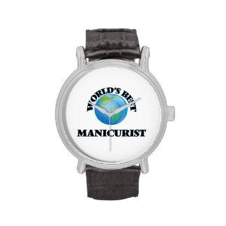El mejor manicuro del mundo relojes de pulsera