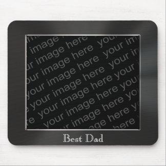 El mejor marco Mousepad de la foto del metal del p