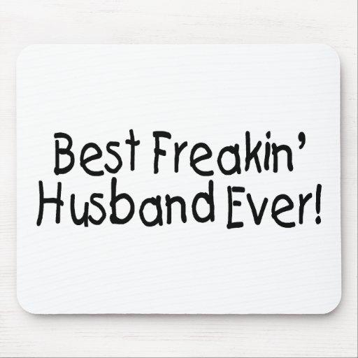 El mejor marido de Freakin nunca Tapete De Ratones