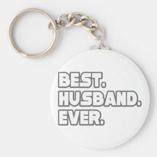 El mejor marido nunca llavero personalizado
