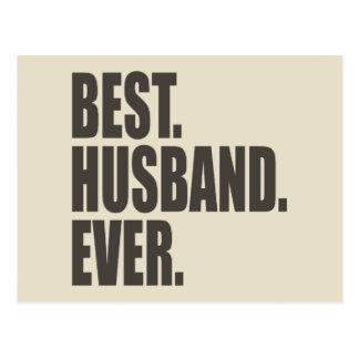 El mejor Marido Nunca Postal