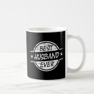El mejor marido siempre blanco taza básica blanca
