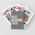 El mejor marido siempre gris baraja de cartas